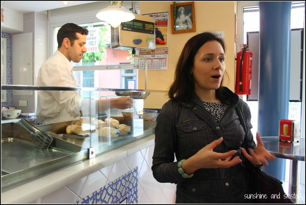 On a Food Tour in Seville