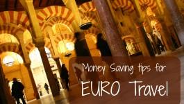 Saving Money in Europe