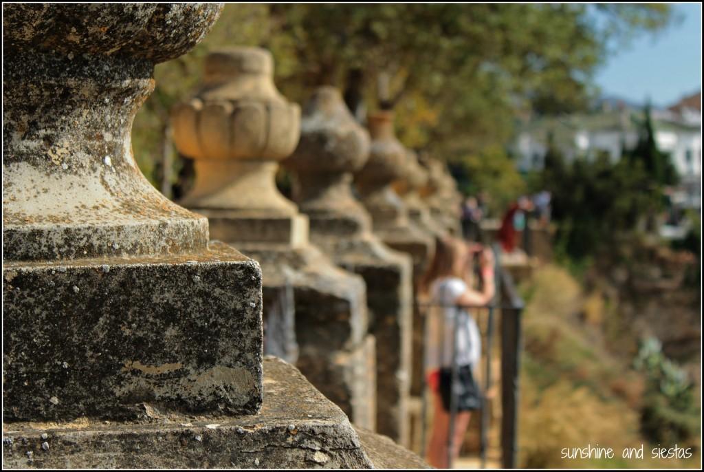 Balconies in Ronda Spain