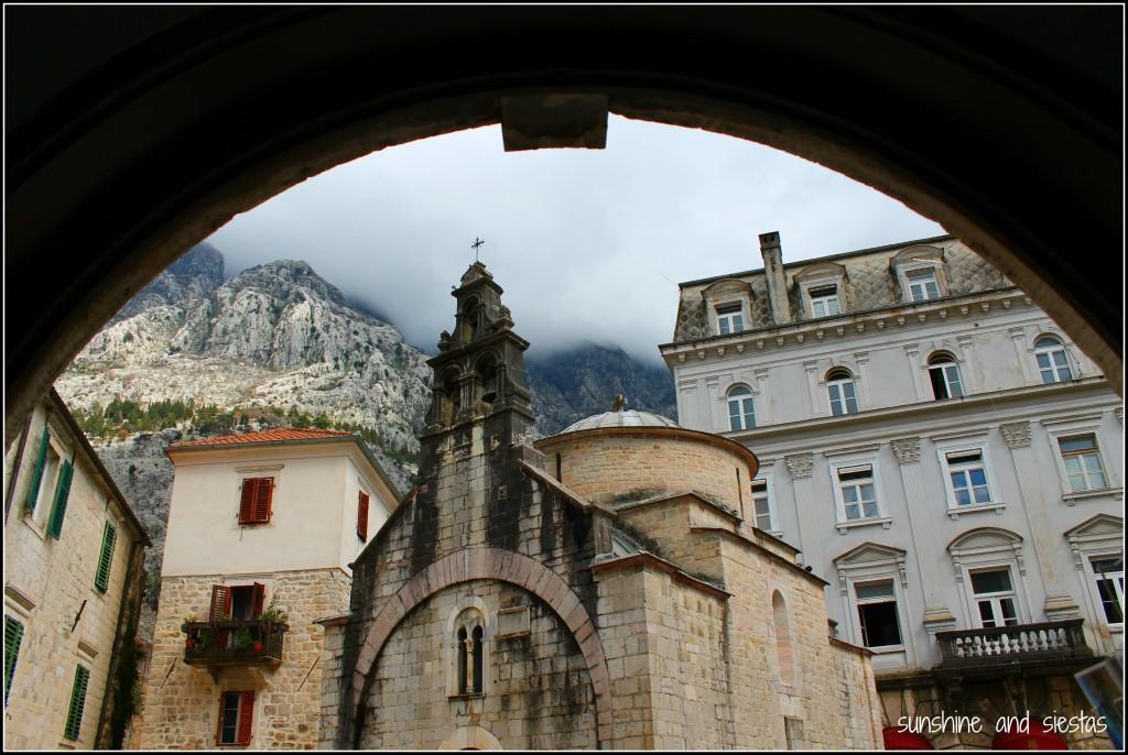 Fog over Kotor Montenegro