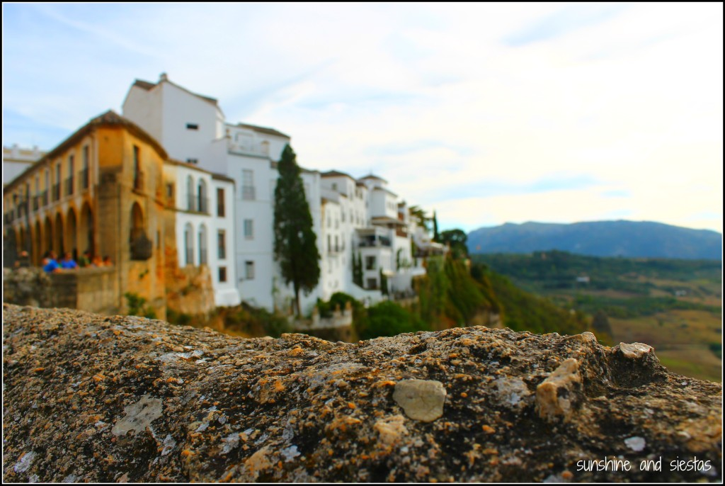 views of the countryside Ronda