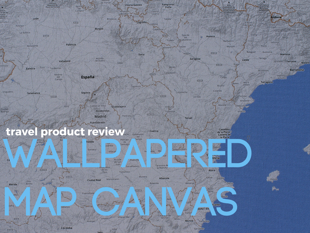 Wallpapered Map Canvas
