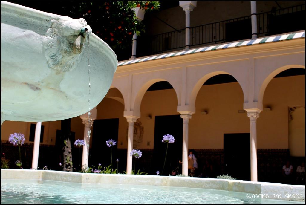 Espacio Santa Clara Fountain Seville