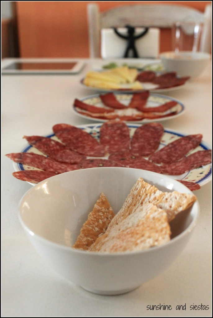 Typical Spanish Charcuterie