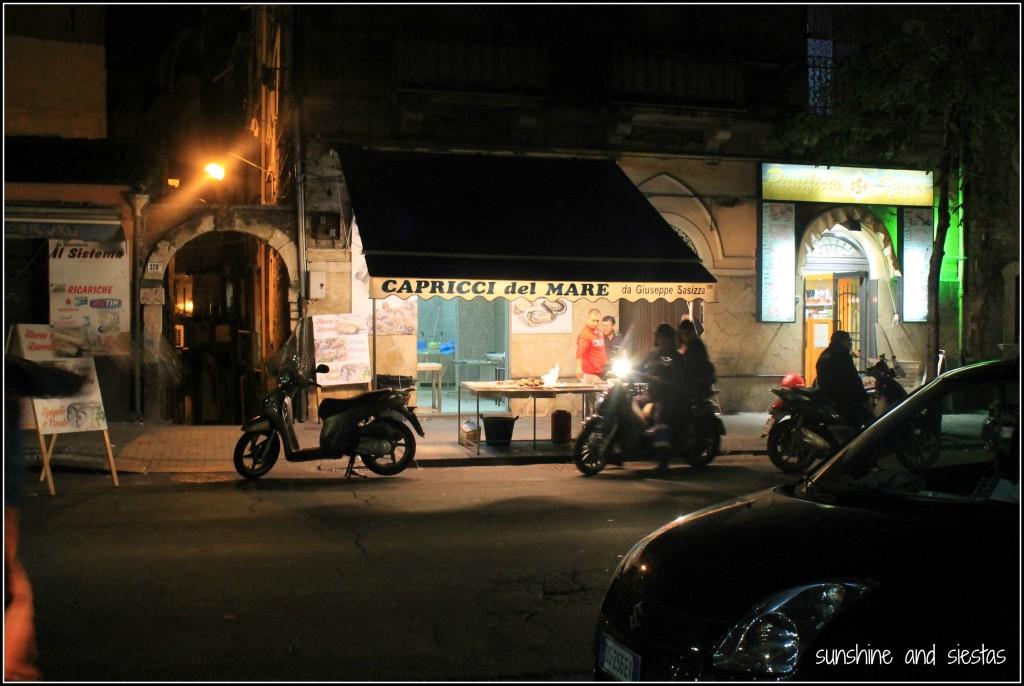 Catania street scenes