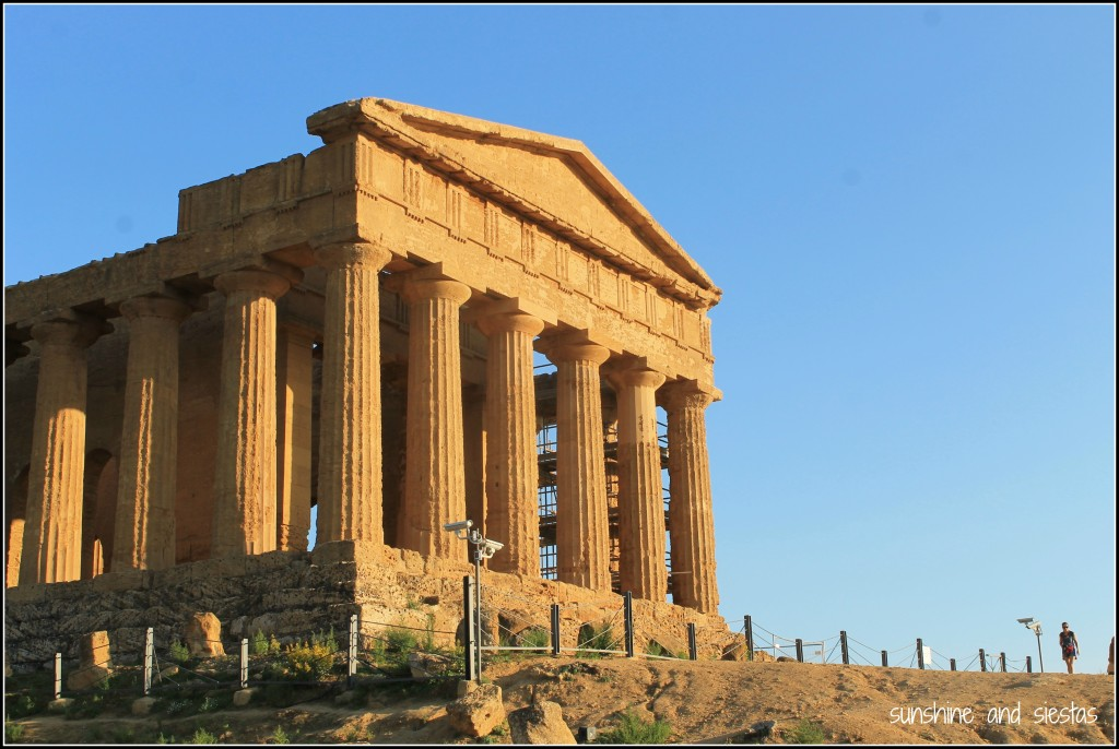 Greek temple in Sicily