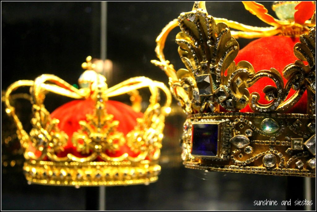 Danish crown jewels Rosenborg Castle