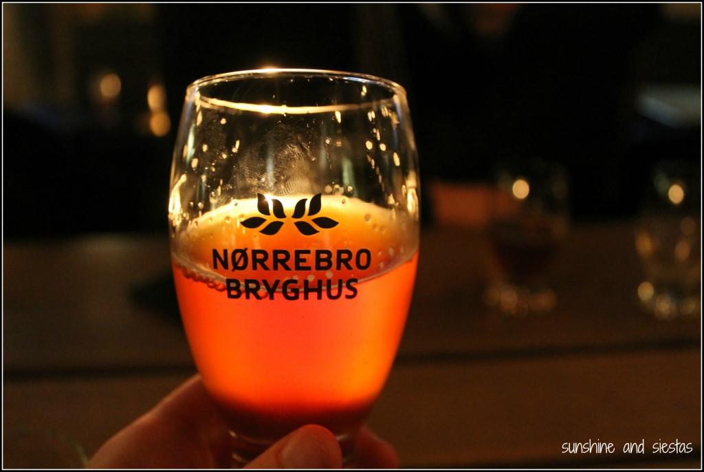 Nørrebro Bryghus Brewery in central Copenhagen