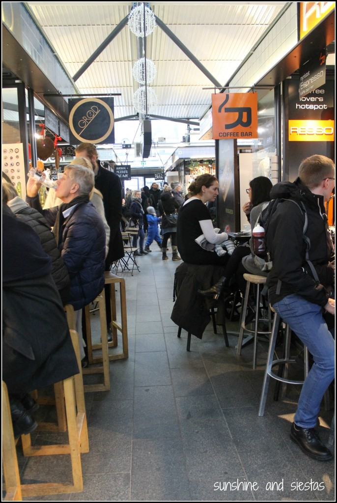 Torrehallerne Food Market in Denmark