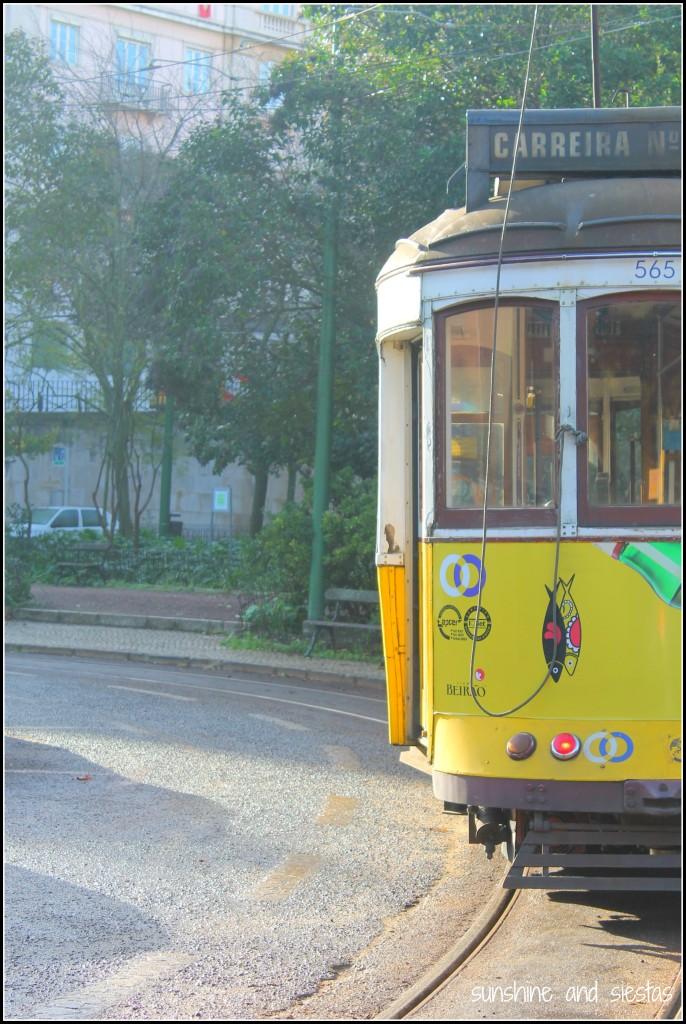 Historic Tram 28 Lisbon