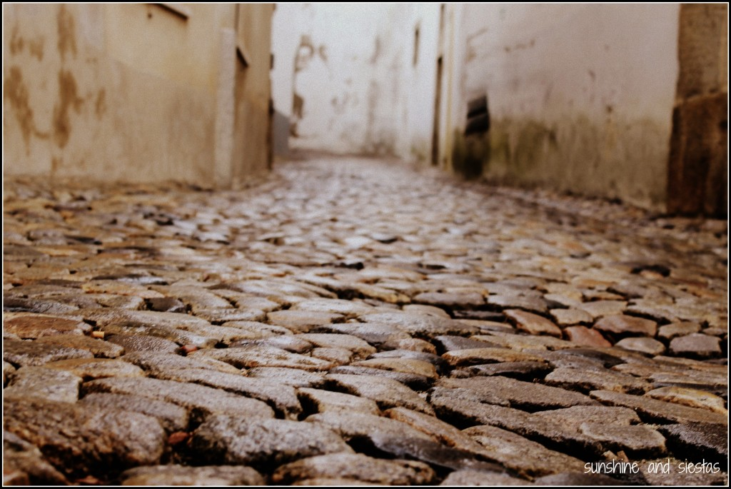 cobblestone road Europe