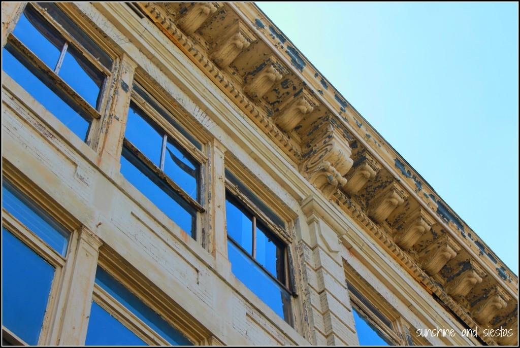 Crumbling Memphis buildings