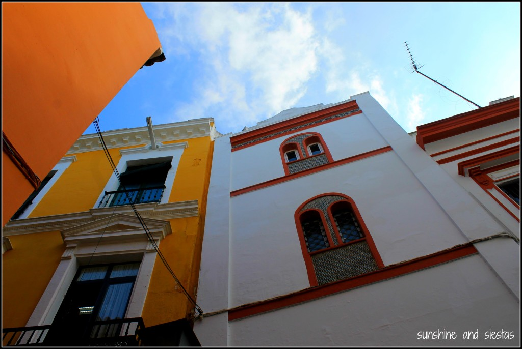 city streets seville